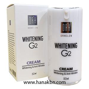 Kem Trắng Da Whitening G2