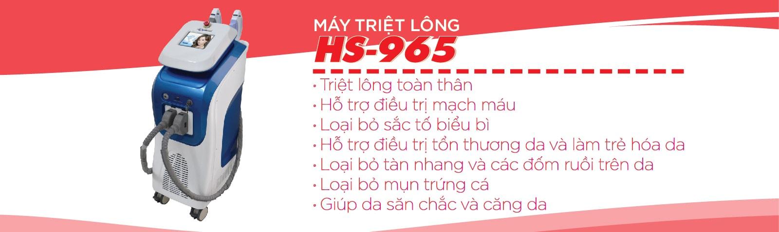 Máy Triệt Lông APOLO HS 965
