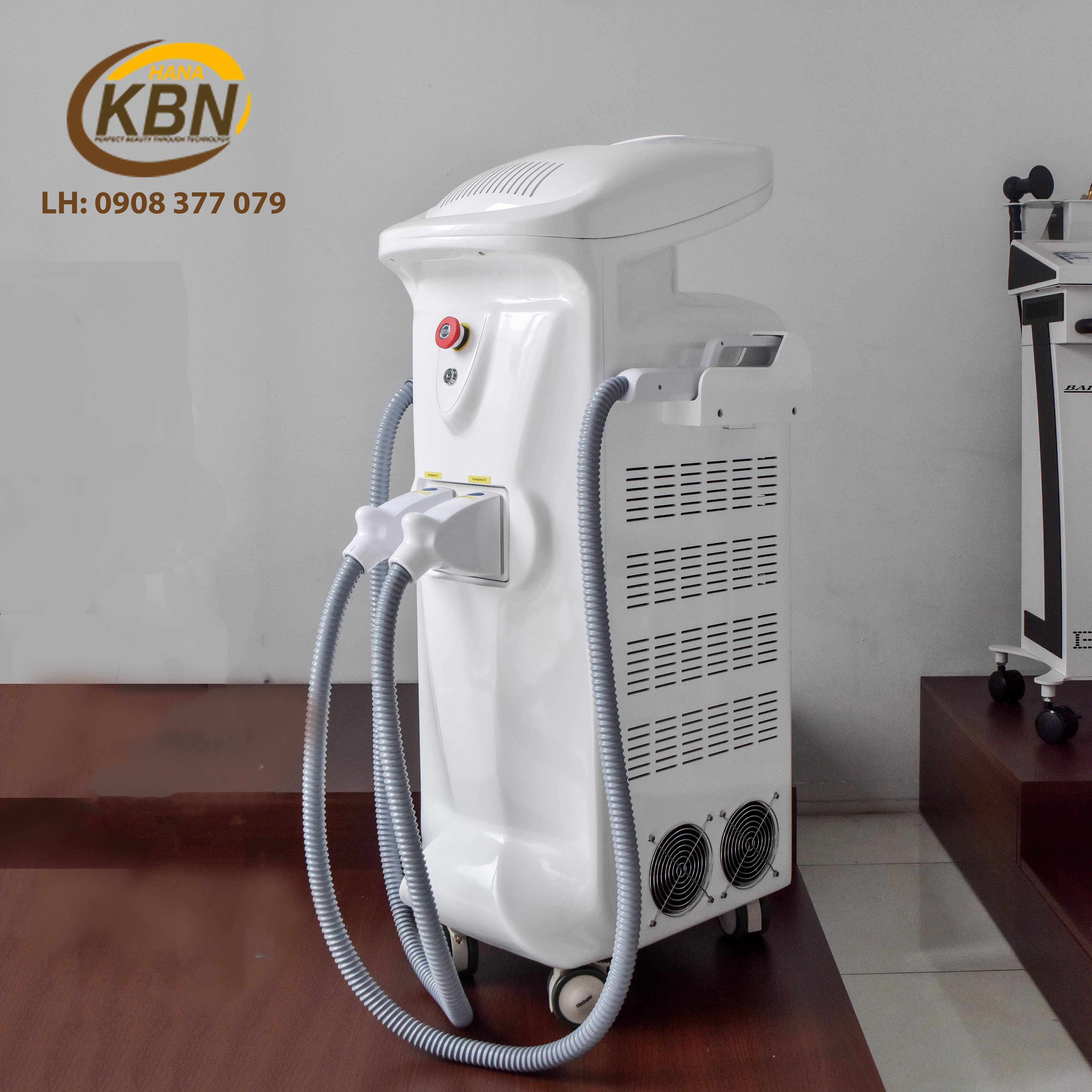 Hình ảnh thực tế máy triệt lông SHR IPL K8I tại Công Ty HanaKBN