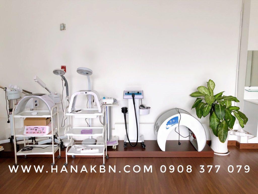 Hình ảnh thiết bị spa cơ bản chính hãng tại Công Ty HanaKBN