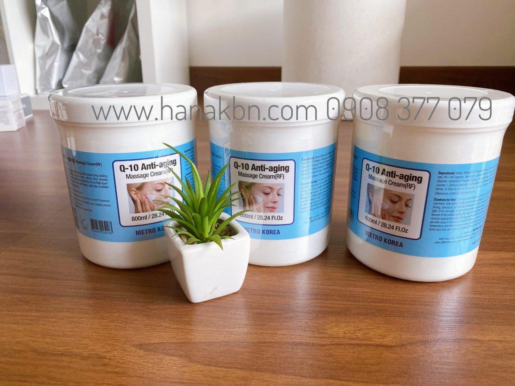 Hình ảnh kem massage Q-10 Anti-aging Hàn Quốc