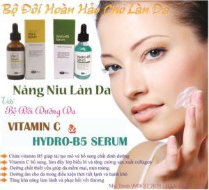 Vitamin C và Hydro B5 Serum