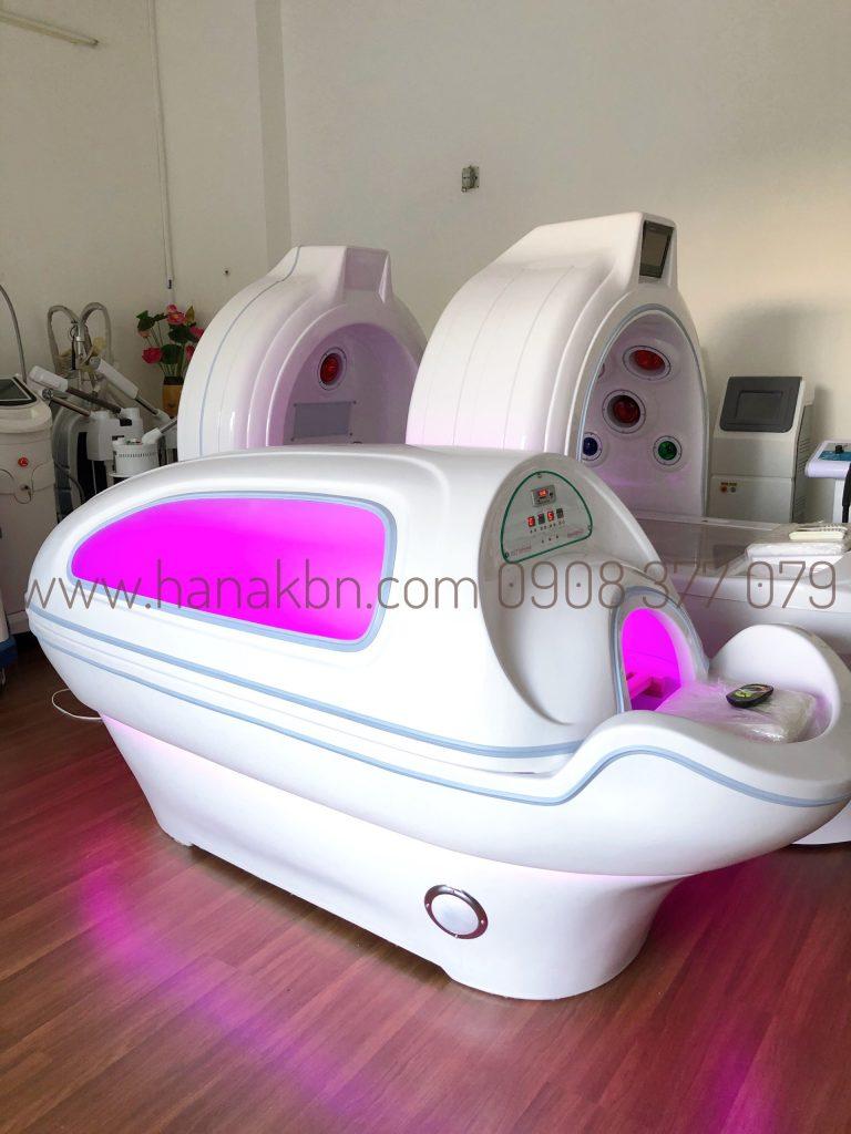 Phi thuyền tắm trắng hồng ngoại chính hãng tại công ty HanaKBN