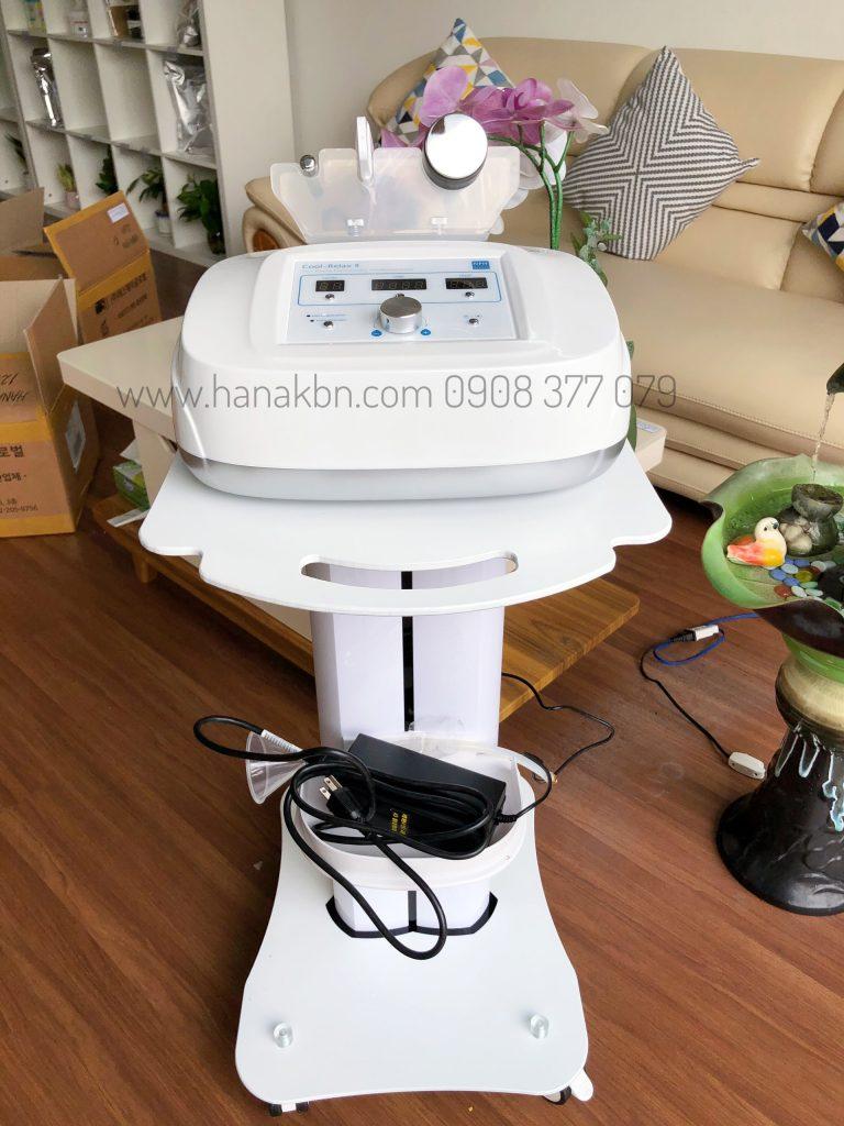 Hình ảnh máy điện di Cool Relax-Hàn Quốc tại công ty HanaKBN