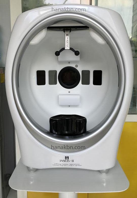 máy phân tích da