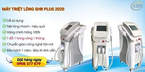 công dụng máy triệt lông shr plus 2020