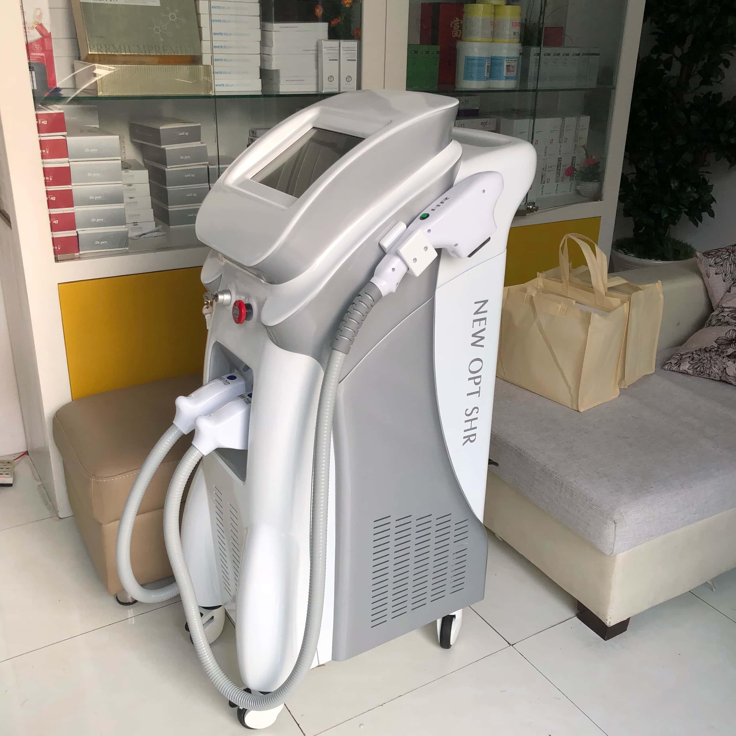Hình ảnh máy triệt lông SHR PLUS 2020 tại Công Ty HanaKBN