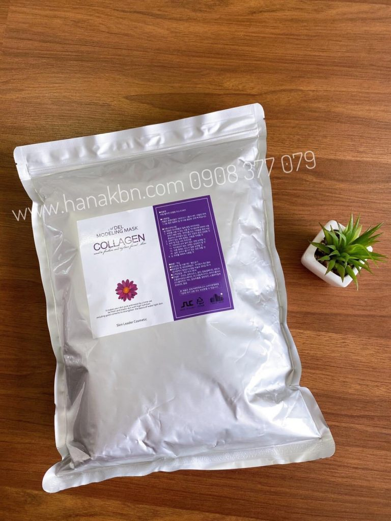 Hình ảnh bột mặt nạ Collagen dẻo-Hàn Quốc tại công ty HanaKBN