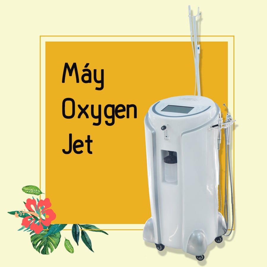 Máy Oxygen Jet New 2019 6 in 1