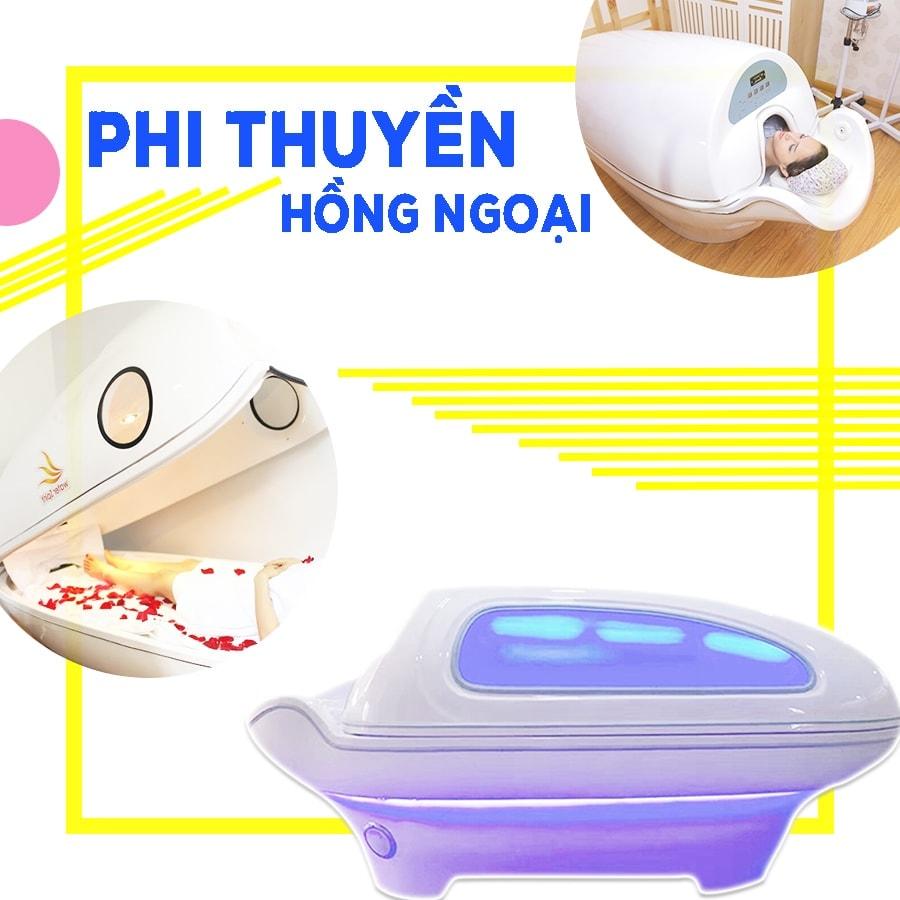 Phi thuyền tắm trắng hồng ngoại Hàn Quốc