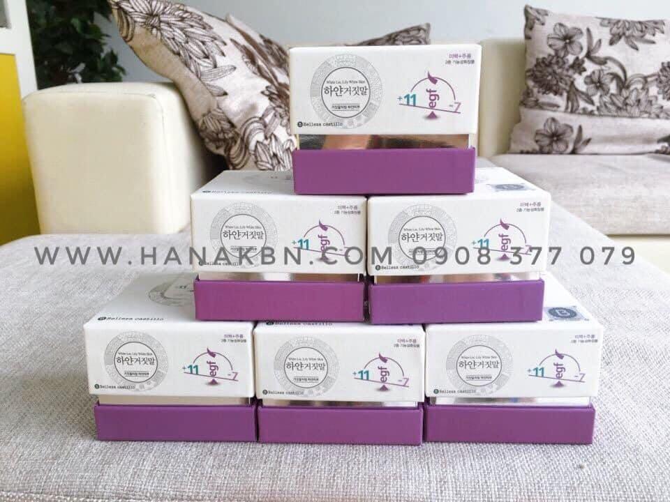 Hình ảnh kem dưỡng Lily trắng sáng tại công ty HanaKBN