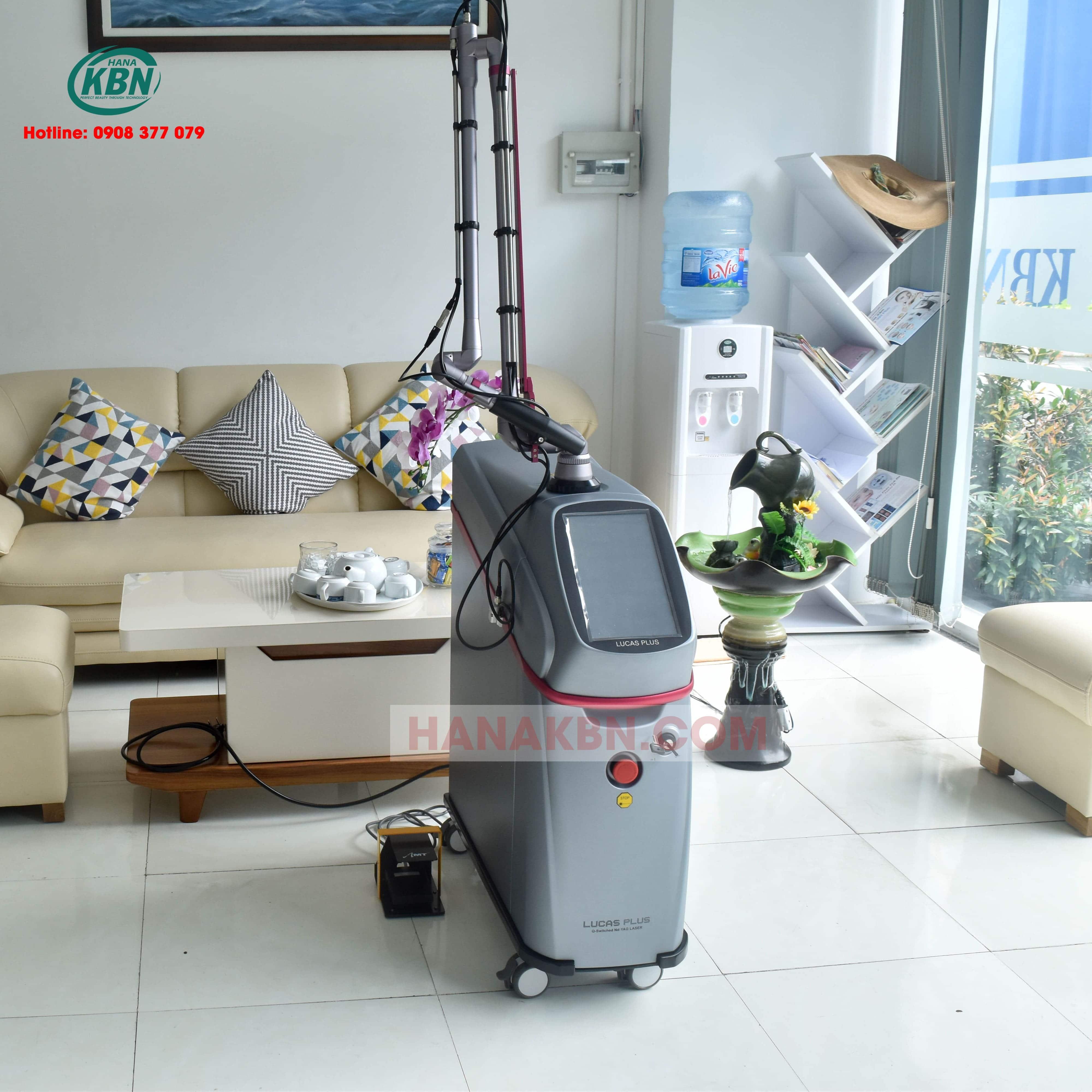 Máy Laser Q-Switched LUCAS PLUS
