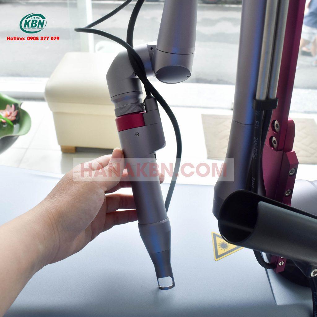 Tay cầm máy trị nám Laser Q-switched Lucas Plus-Hàn Quốc
