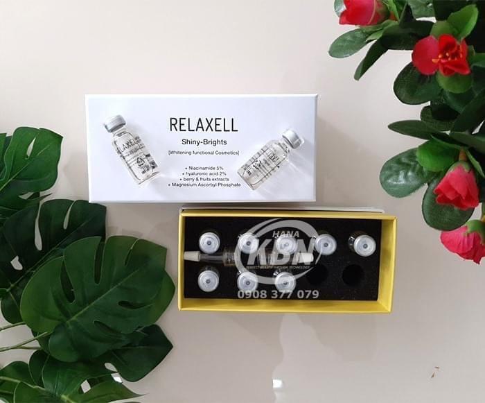 Hình ảnh thực tế tế bào gốc Relaxell vàng tại công ty HanaKBN