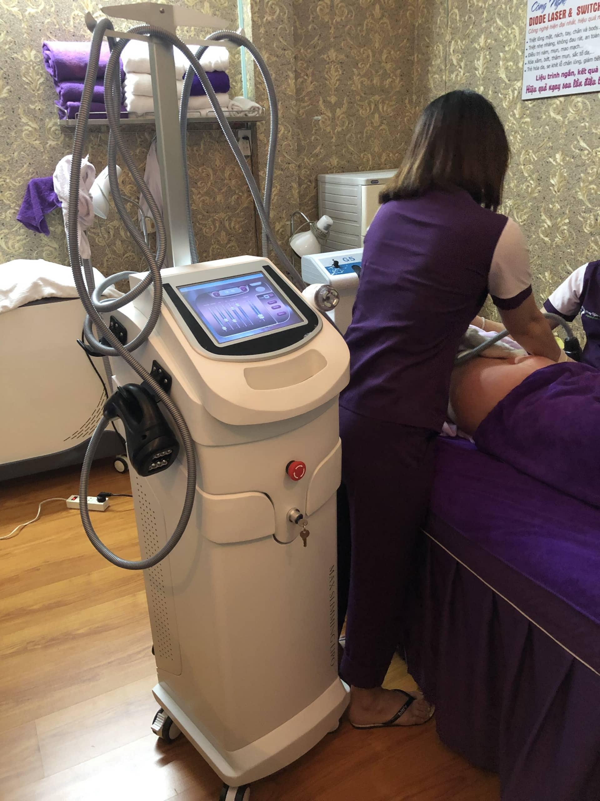 chuyển giao công nghệ máy giảm béo Max Burn Lipo