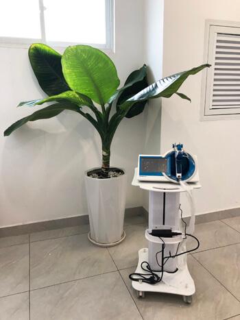Chuyển giao công nghệ máy Venustar 80 cho khách hàng