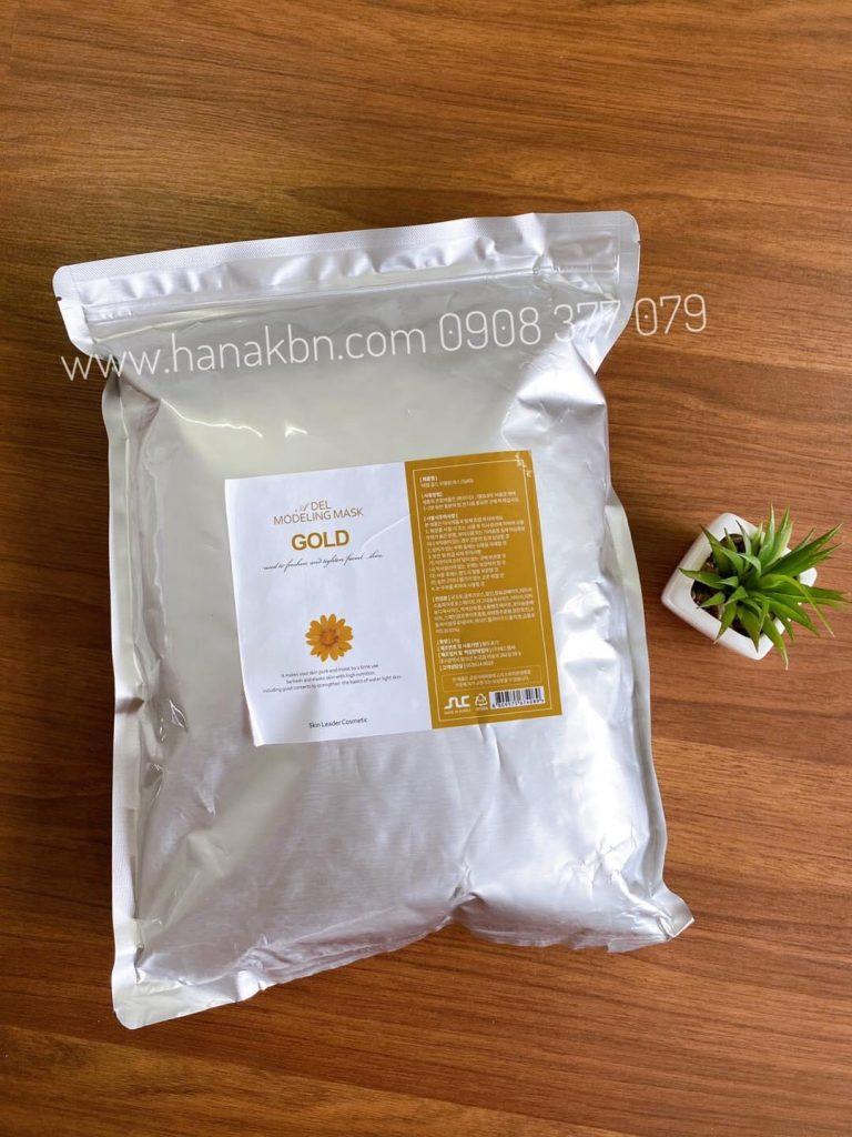 Hình ảnh bột mặt nạ vàng gold tại công ty HanaKBN