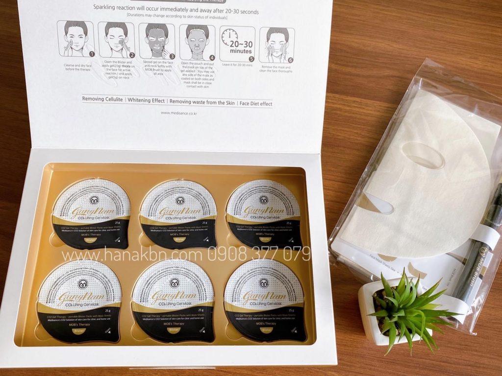 Hình ảnh mặt nạ CO2 Gangnam thải độc tố cho làn da tươi khoẻ