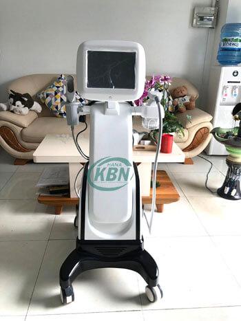 Máy điều trị da sần vỏ cam HIFU chính hãng