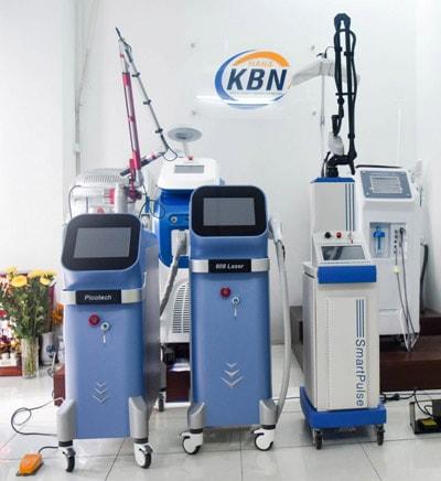 Máy điều trị vảy nến chính hãng