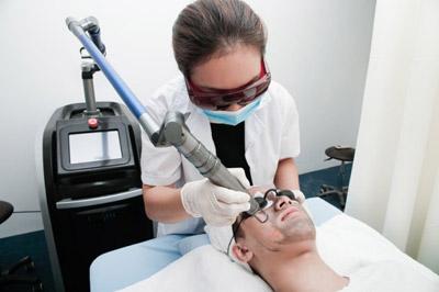 Hình ảnh điều trị nám da bằng công nghệ Laser Toning