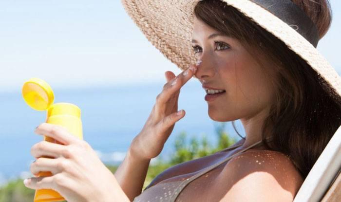 chống nắng sau khi trị sẹo rỗ