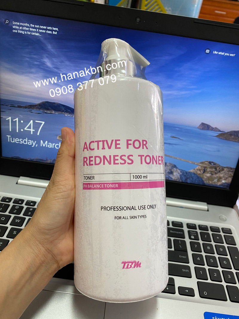 Active for redness toner