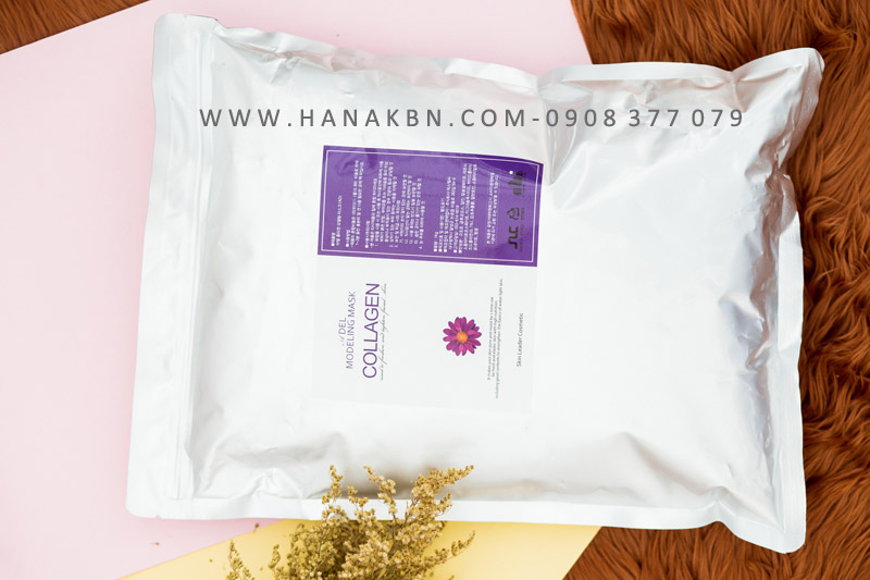 bột mặt nạ dẻo collagen