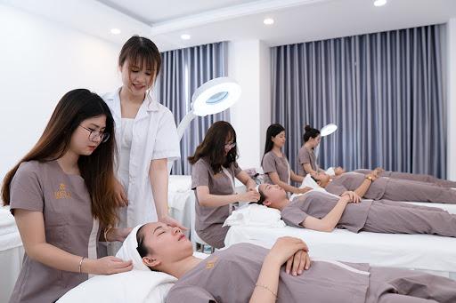 training đào tạo nâng cao tay nghề cho nhân viên spa