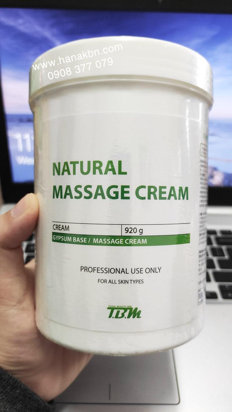 kem massage natural chính hãng
