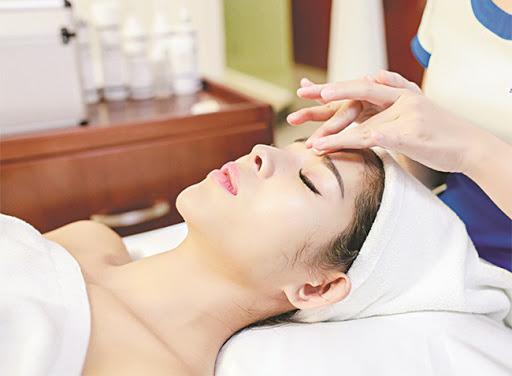 loại hình massage mặt day spa