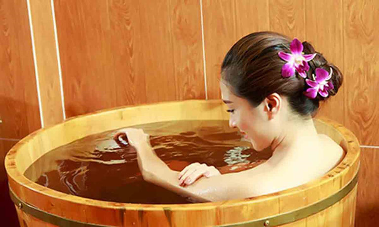 loại hình tắm thảo dược day spa