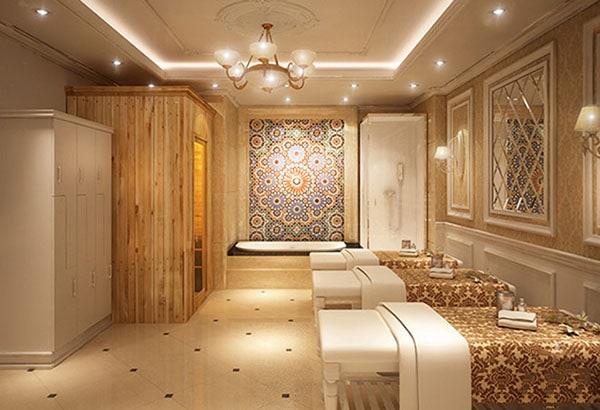 quy mô phòng spa chuyên nghiệp