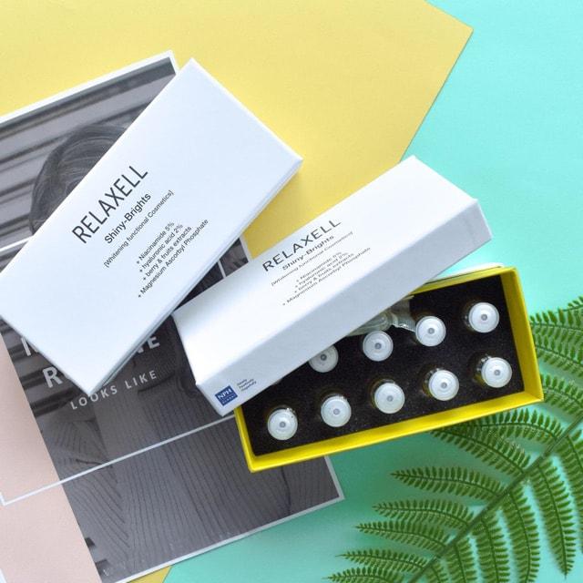 serum trị nám relaxell vàng