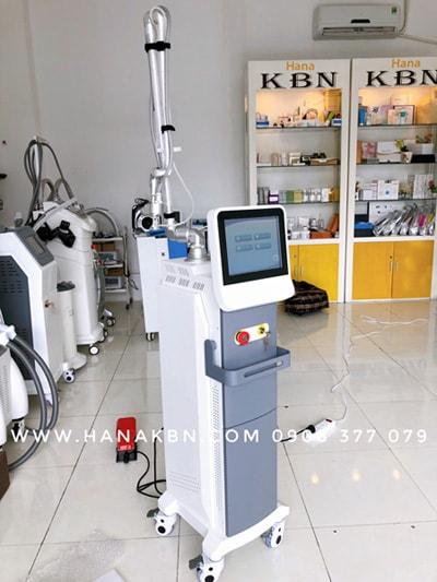 Máy Laser CO2 Fractional chính hãng tại công ty HanaKBN