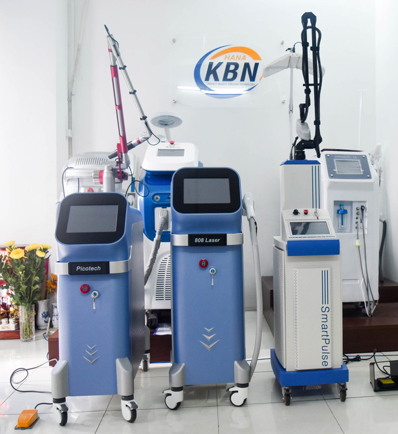 máy đốt hạt cơm Laser CO2 Fractional