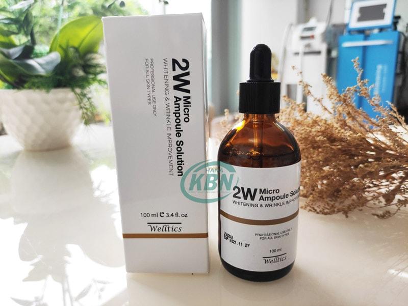 Tinh chất dưỡng trắng cải thiện nếp nhăn 2W Micro Ampoule