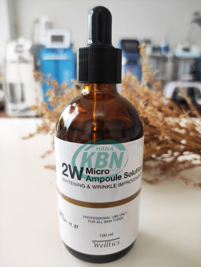 tinh chất cải thiện nếp nhăn 2W Micro Ampoule