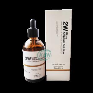 Tinh chất dưỡng trắng và cải thiện nếp nhăn 2W Micro Ampoule