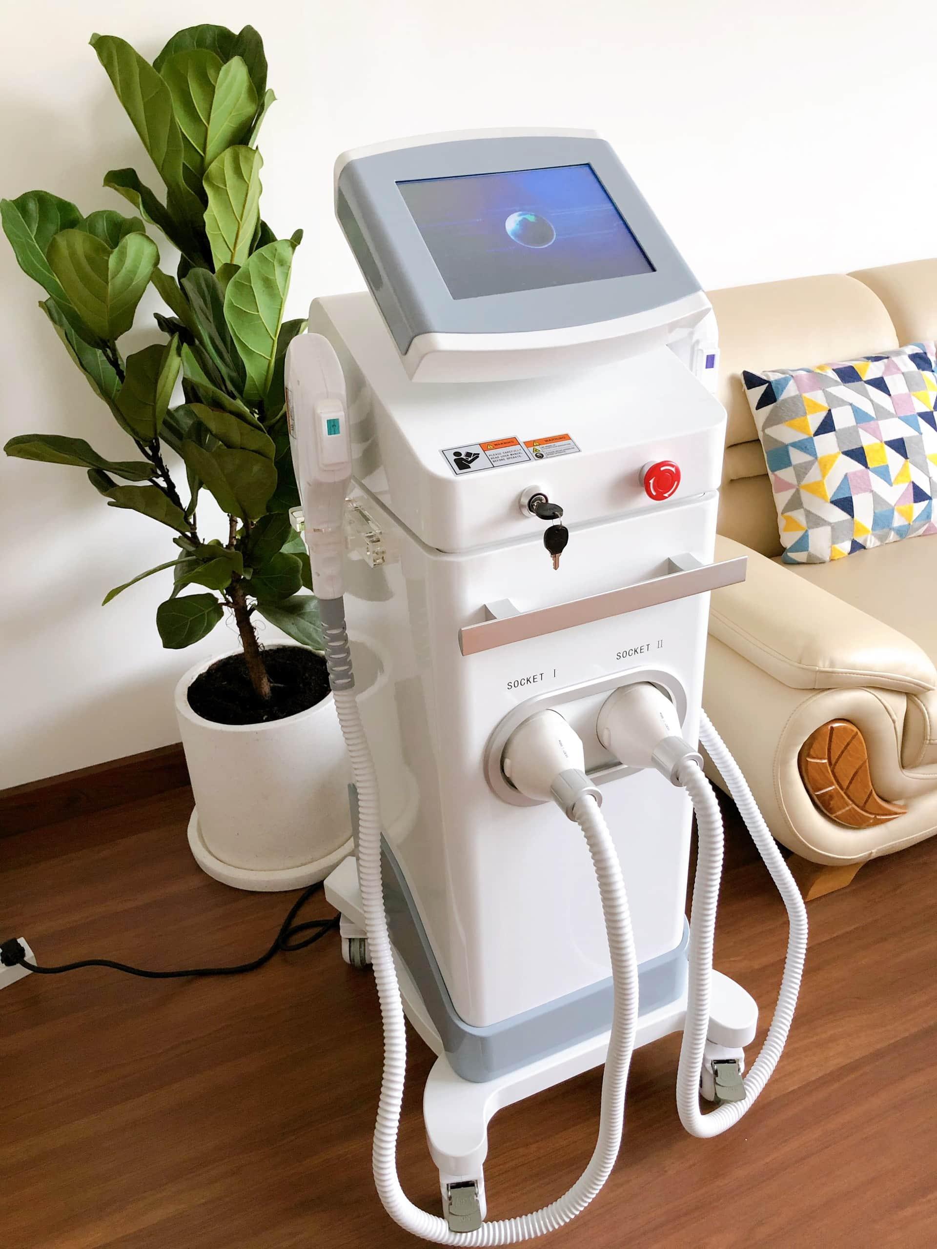 Hình ảnh máy triệt lông IPL Super OPT Doctor