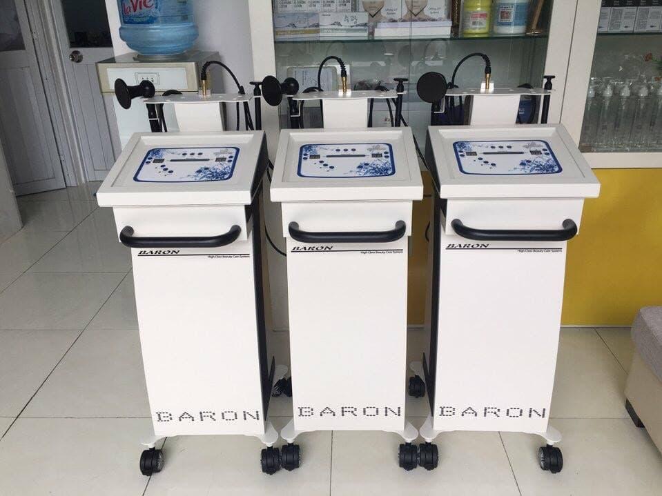 Hình ảnh máy nâng cơ RF Baron chính hãng
