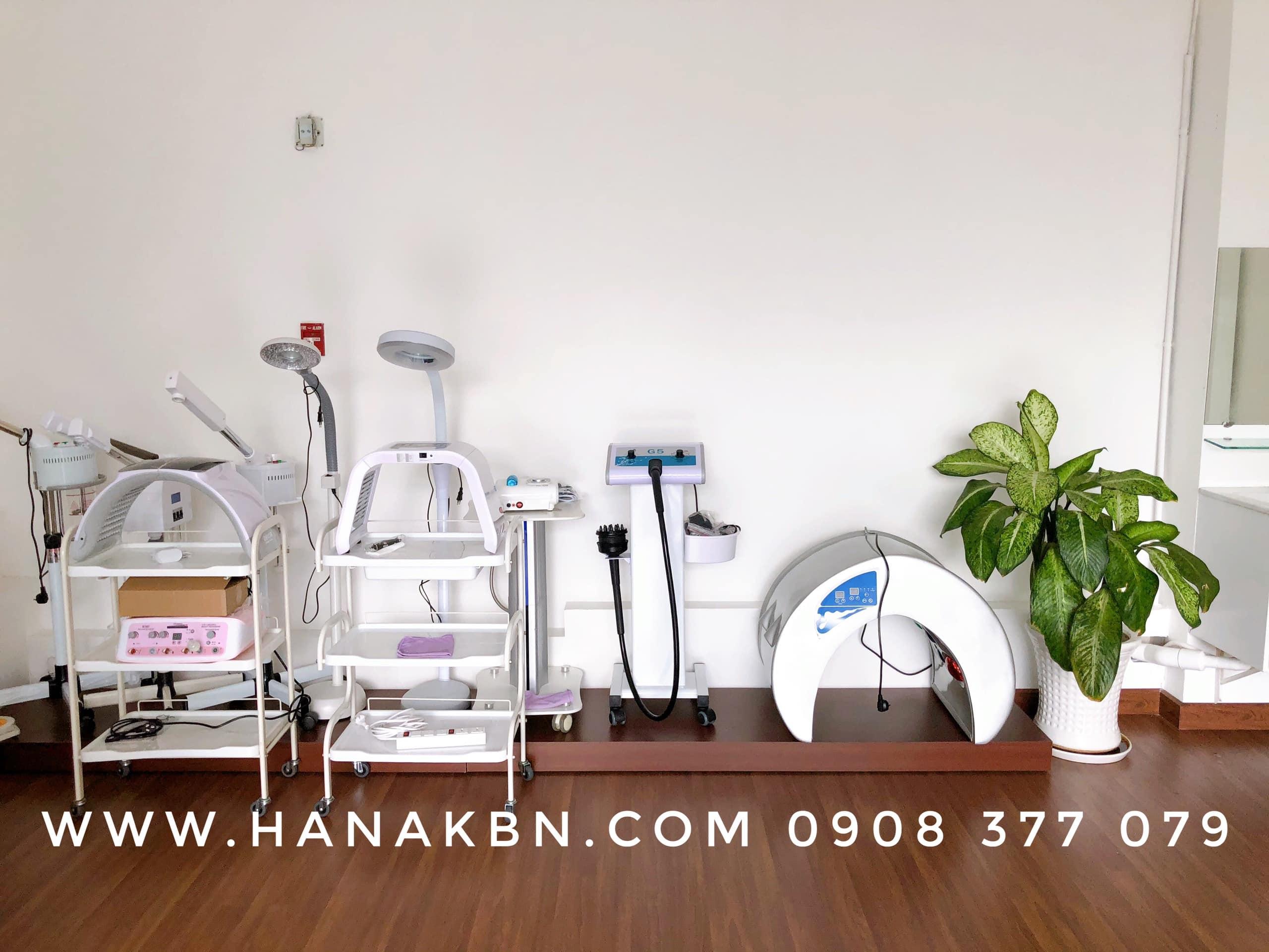 Thiết bị spa cơ bản tại công ty Hana Kim Bách Nguyên