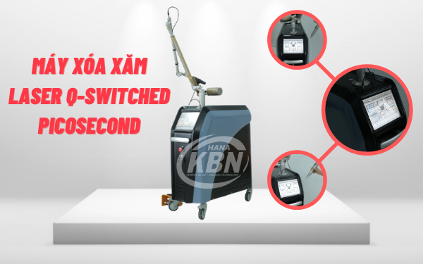 Máy xóa xăm laser Q-Switched