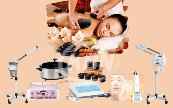 Các dòng thiết bị spa cơ bản giúp massage trị liệu, thư giãn