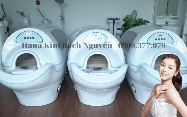 Hình ảnh phi thuyền tắm trắng tại HanaKBN