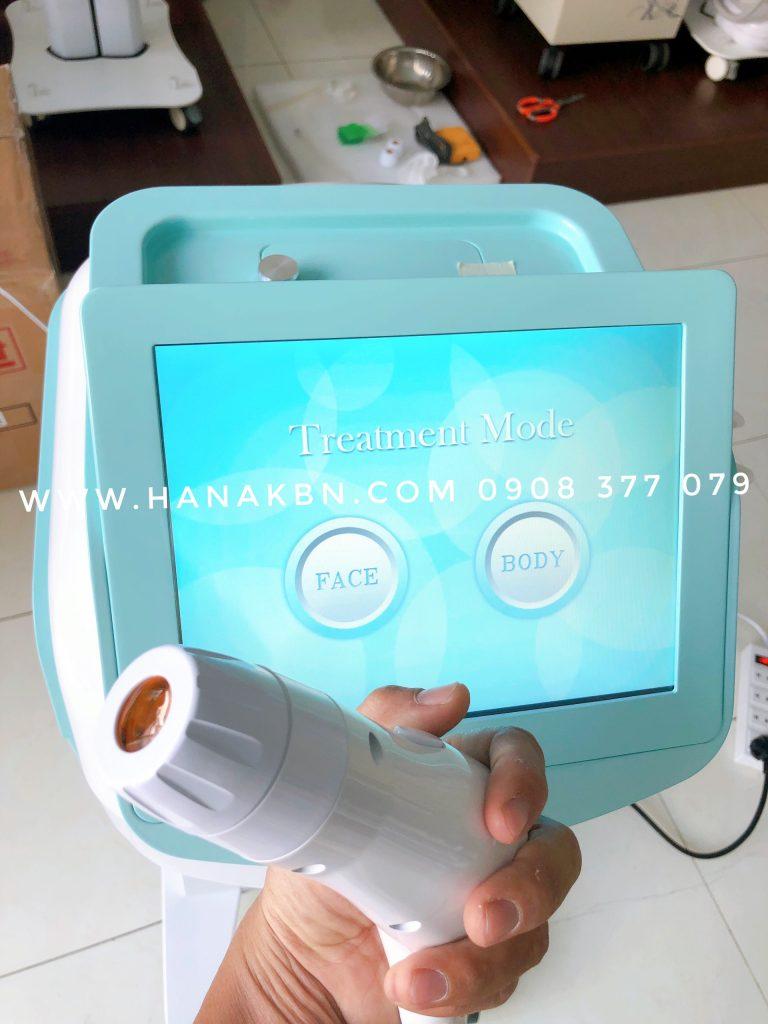 Hình ảnh giao diện máy trẻ hoá da Ultherapy chính hãng