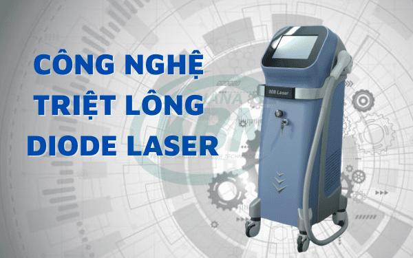 Công nghệ triệt lông Diode Laser đang được nhiều spa và khách hàng lựa chọn