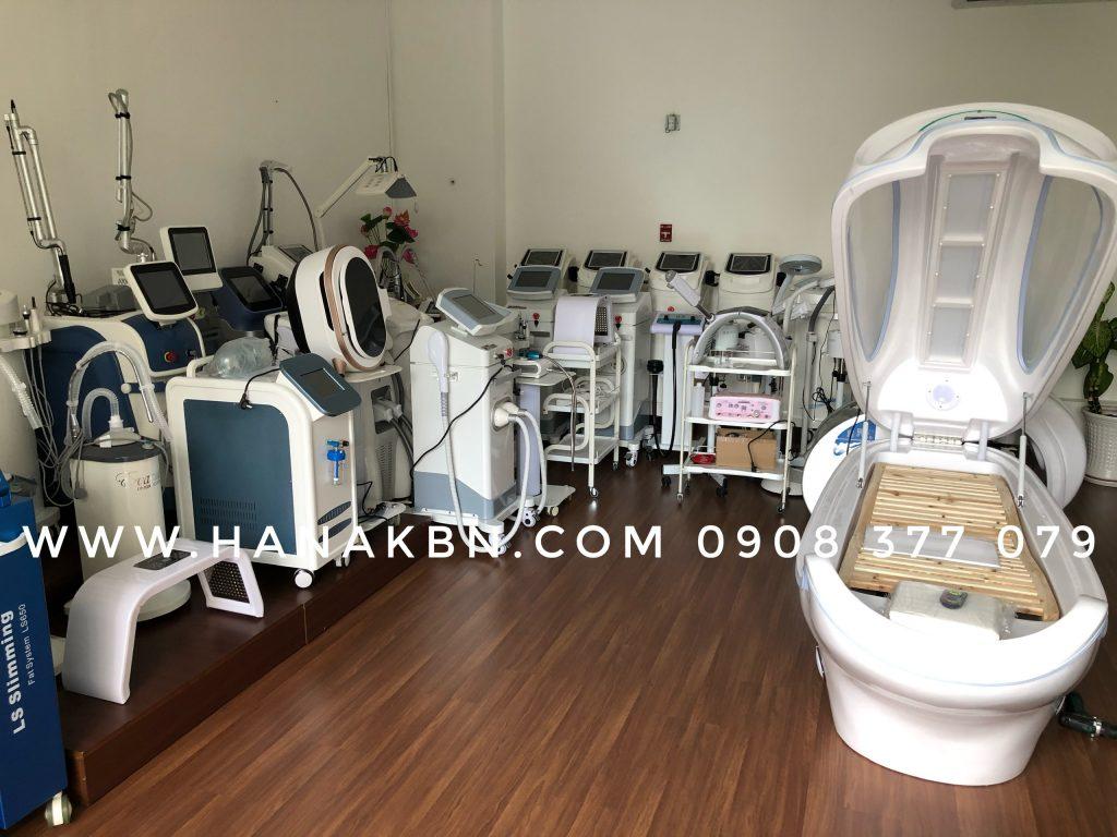 Hình ảnh thực tế thiết bị spa chính hãng tại công ty HanaKBN