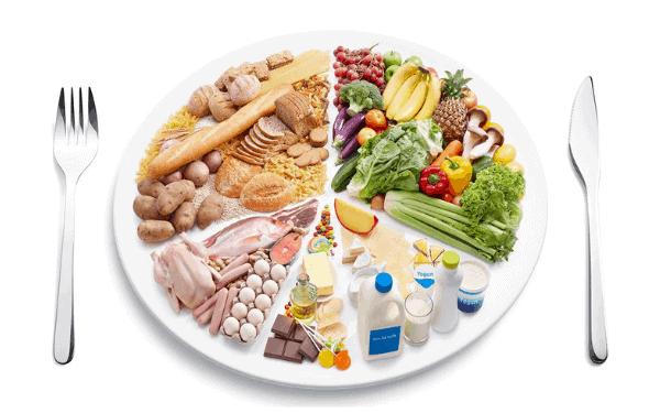 Kiểm soát chế độ ăn và bổ sung đầy đủ chất dinh dưỡng để duy trì làn da khỏe mạnh