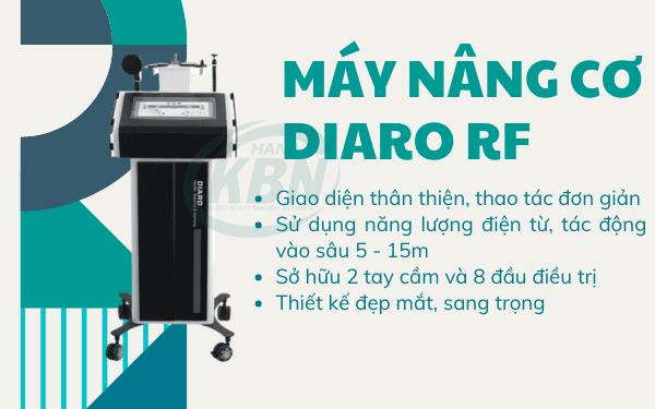 Máy nâng cơ DIARO RF giúp thon gọn cơ thể, xóa tan nếp nhăn
